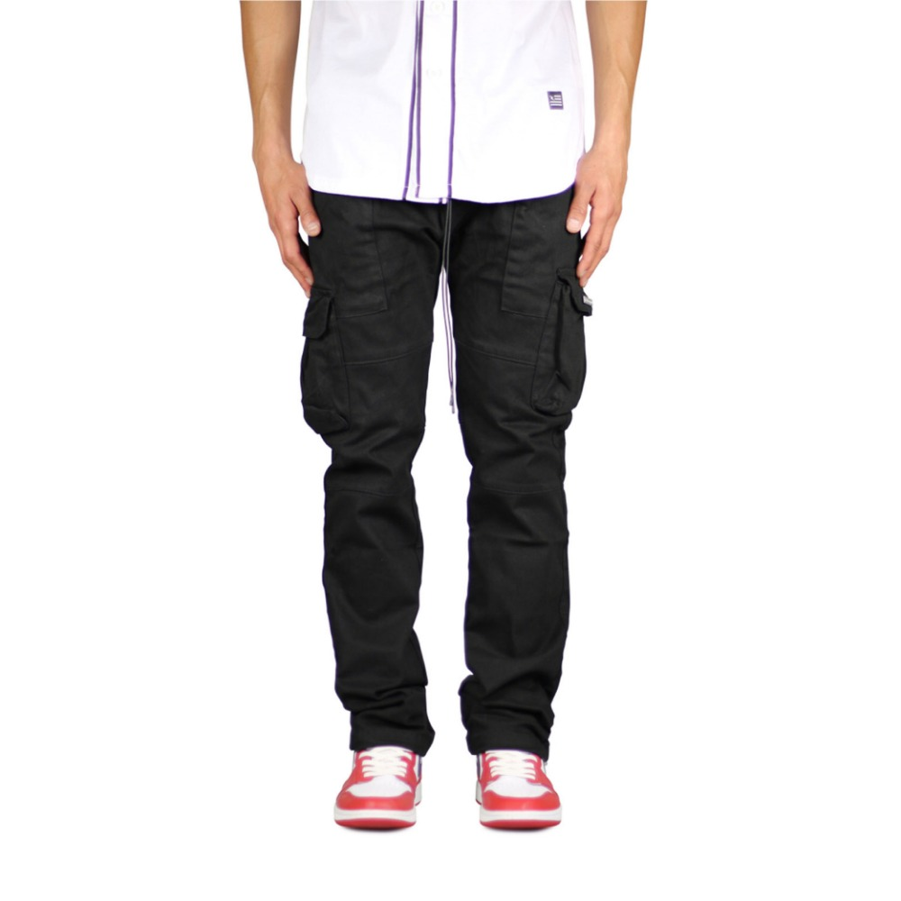 HYPERDENIM Black Straight Leg Pant